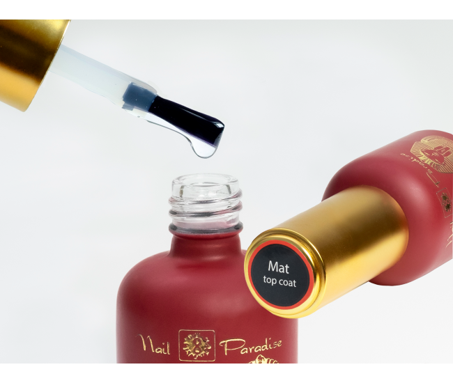 Top Coat - Mat with Sticky Layer 10ml
