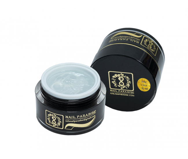 Jelly Clear Builder Gel 15ml. - Nail & Eyelash Paradise