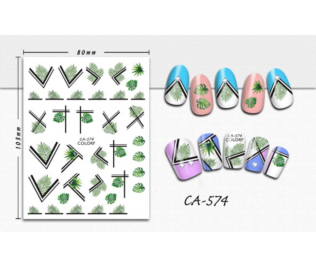 3D Nail Stickers   Trend stickers  CA-574