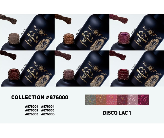 Gel Polish Collection - Disco Lac 1 60ml