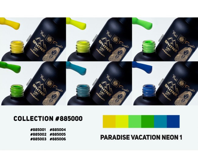 Gel Polish Collection - Paradise Vacation Neon 1 60ml