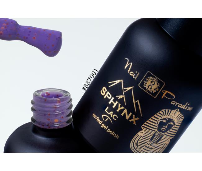 SPHYNX Lac Gel Polish - Purple Finch 10ml