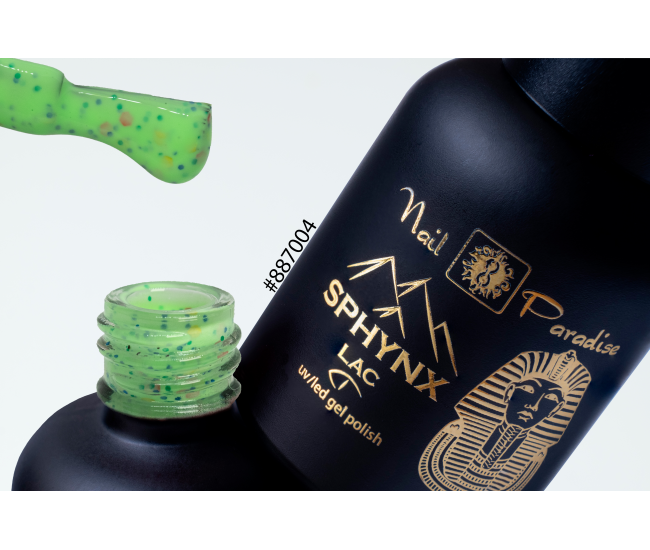 SPHYNX Lac Gel Polish - Green Wagtail 10ml
