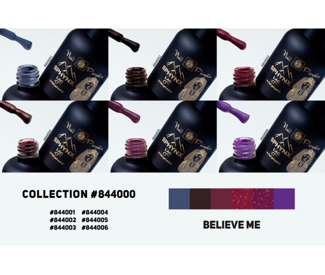 Gel Polish Collection - Believe Me 60ml