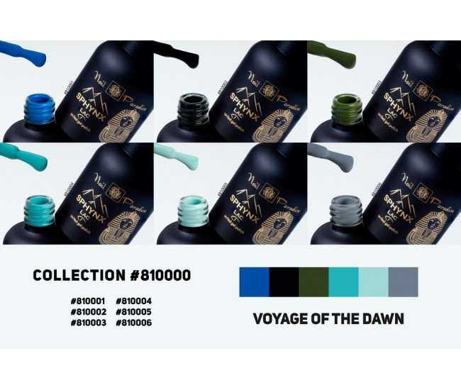 Gel Polish Collection - Voyage of the Dawn 60ml