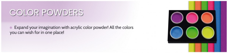 Acrylic Colour Powders