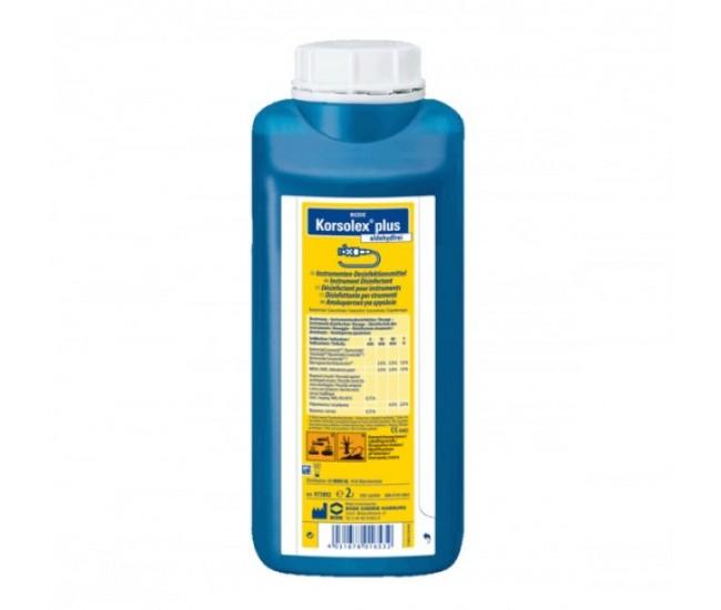 Korsolex plus, Instrument Disinfectant 2 litres