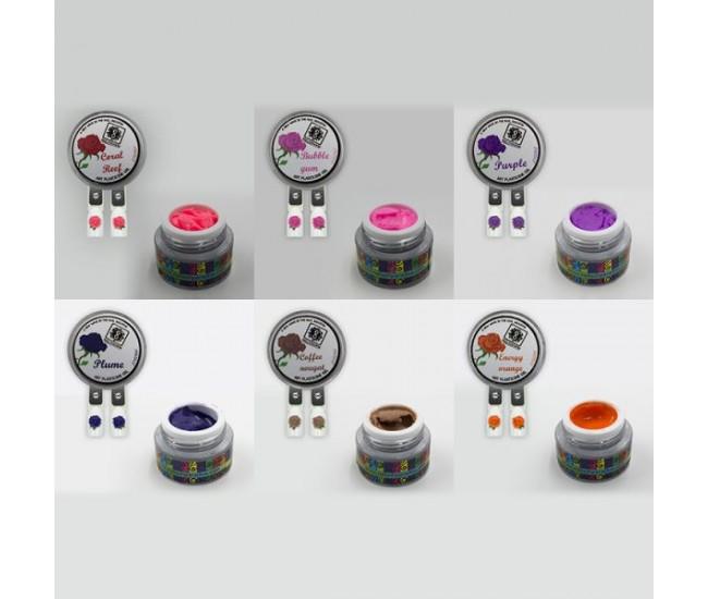 4D Plastecine Gel - Collection #2 - Nail & Eyelash Paradise