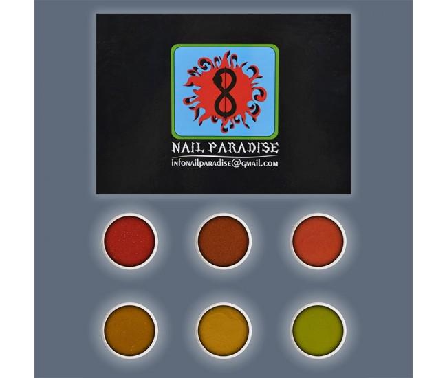 Autumn Legend Acrylic Collection 36g. - Nail & Eyelash Paradise