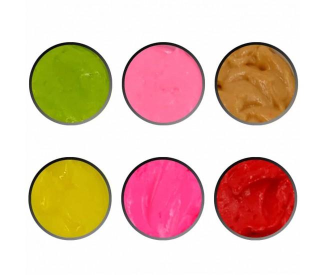 4D Plastecine Gel - Collection #3 - Nail & Eyelash Paradise