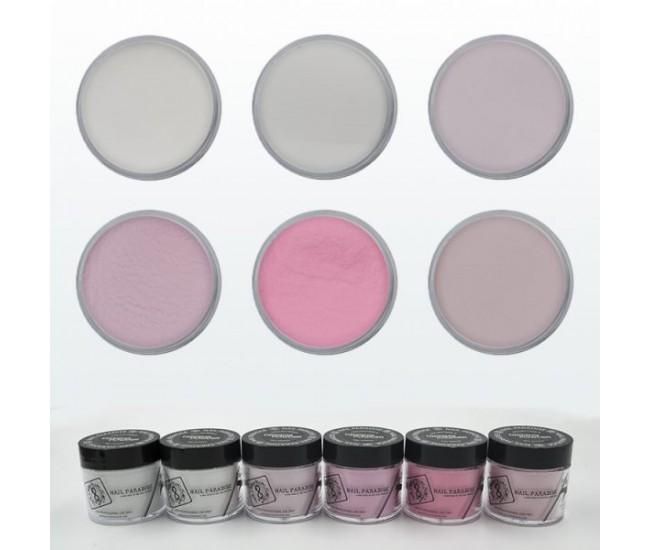 Dipping Powder Collection 5 - 180g. - Nail & Eyelash Paradise