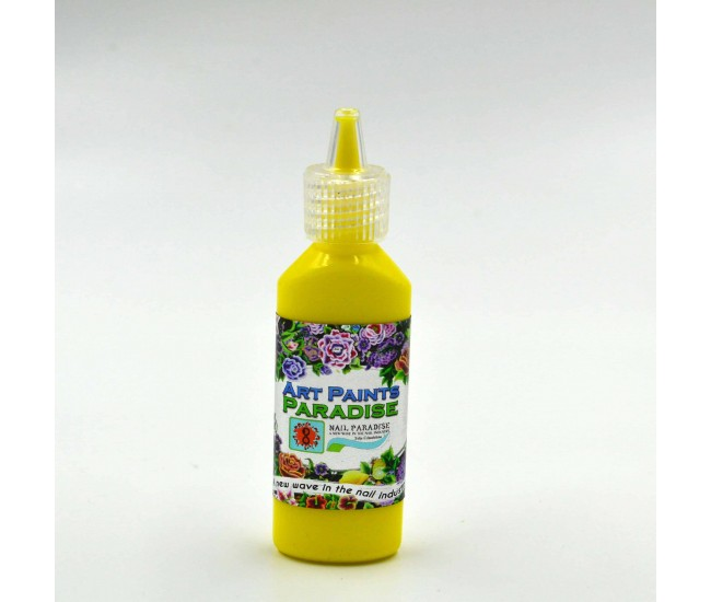 Acrylic paints Yellow - Paradise Paint - Nail & Eyelash Paradise