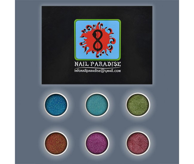 Marmalade assorti Glitter Collection - Nail & Eyelash Paradise