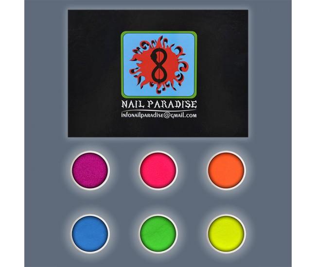 NEON SUGAR MANICURE Glitter Collection 9 - Nail & Eyelash Paradise