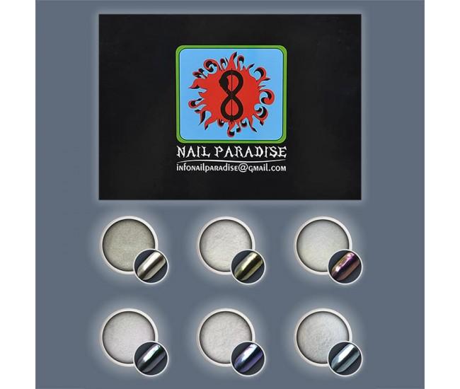 Merry Dancers Mirror Powder Collection 12g. - Nail & Eyelash Paradise