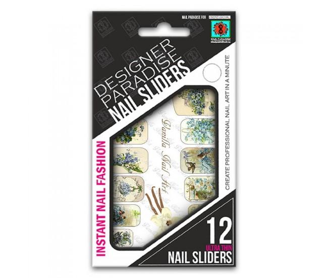 Nail Sliders 620001 - 12pcs. - Nail & Eyelash Paradise
