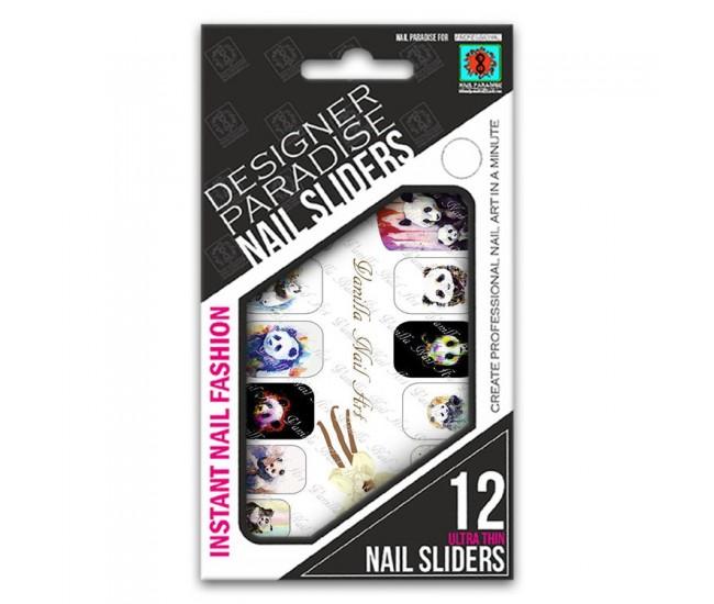 Nail Sliders 620005 - 12pcs. - Nail & Eyelash Paradise