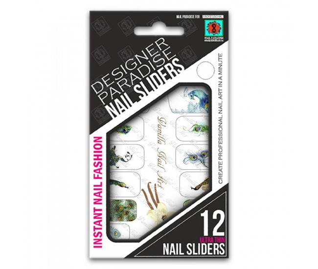 Nail Sliders 620007 - 12pcs. - Nail & Eyelash Paradise