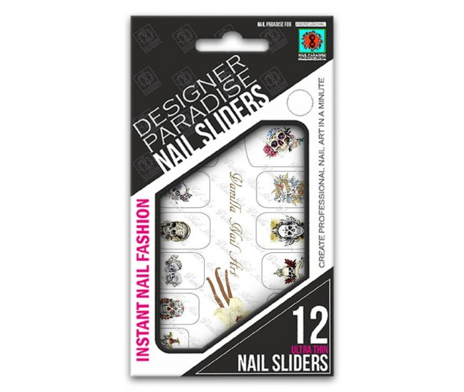 Nail Sliders 620011 - 12pcs. - Nail & Eyelash Paradise