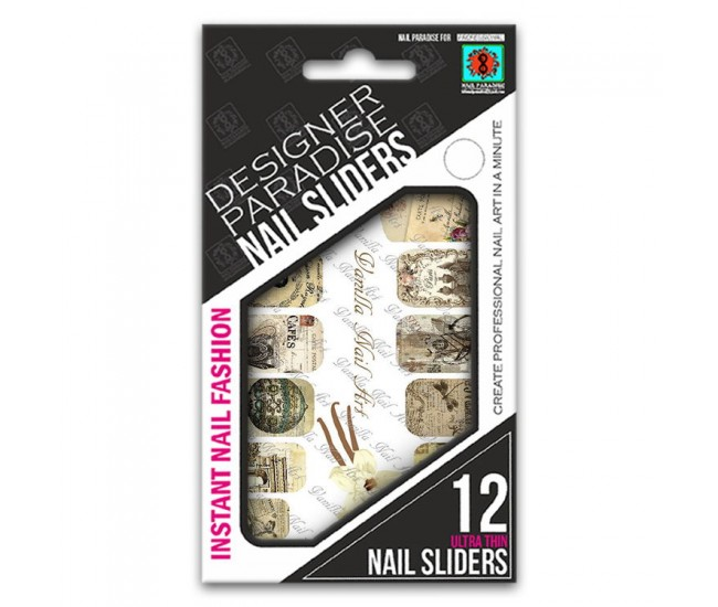 Nail Sliders 620013 - 12pcs. - Nail & Eyelash Paradise