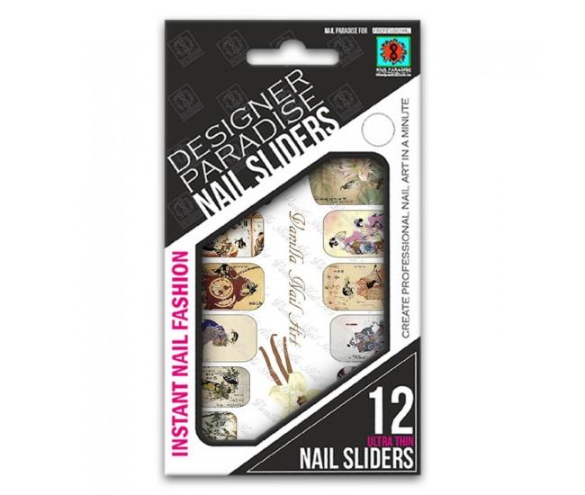 Nail Sliders 620017 - 12pcs. - Nail & Eyelash Paradise