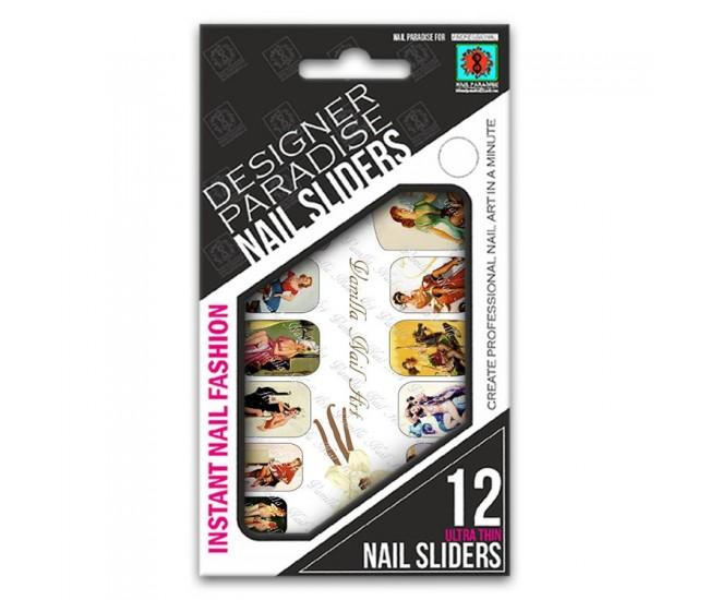 Nail Sliders 620019 - 12pcs. - Nail & Eyelash Paradise
