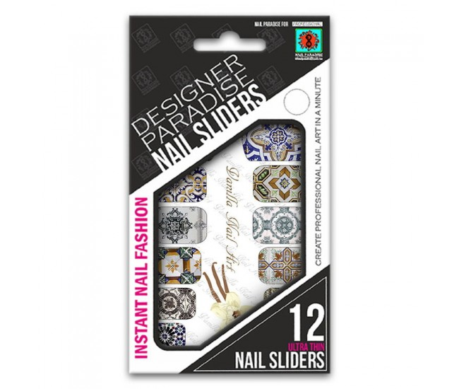 Nail Sliders 620021 - 12pcs. - Nail & Eyelash Paradise